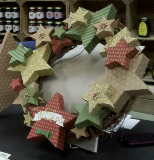 star box wreath