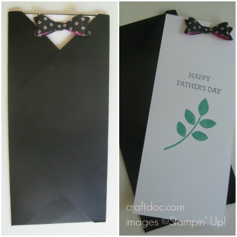Father's Day envelope card