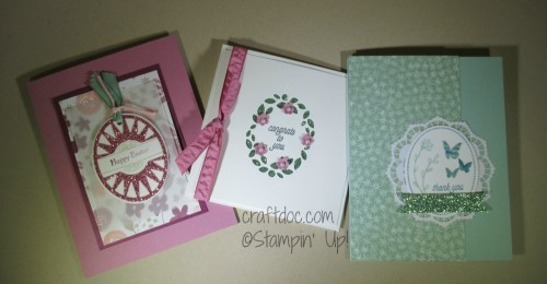 Stampin Up, Thats the Tag, craftdoc, class, Erie PA