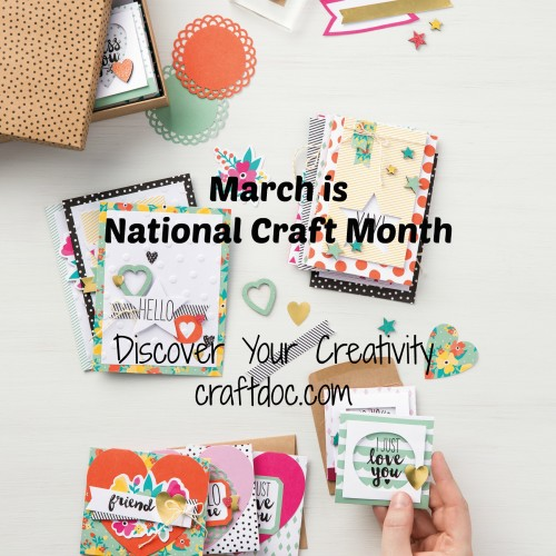 National Craft Month craftdoc