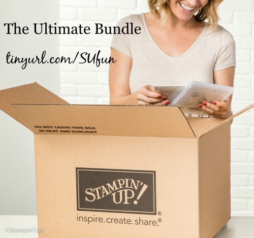 ultimate bundle, Stampin Up, starter kit, discount