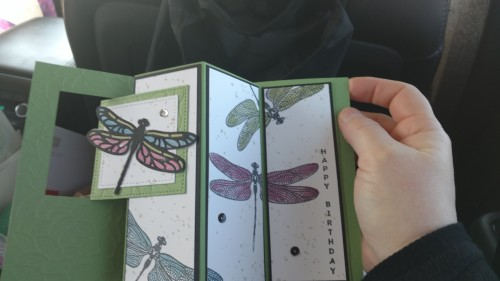 Dragonfly Dreams Swaps Stampin up craftdoc