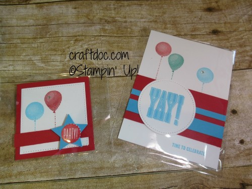 Super Duper Stampin Up Swaps