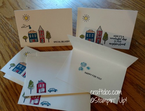 craftdoc In the City notecards