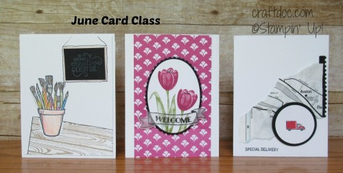 craftdoc card class Stampin Up