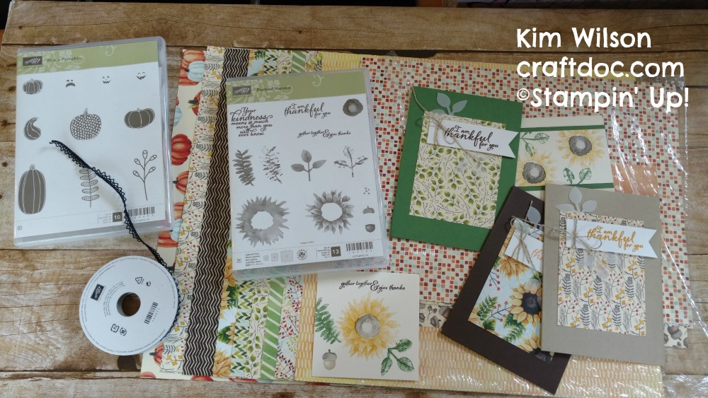 craftdoc Painted Harvest Stampin Up