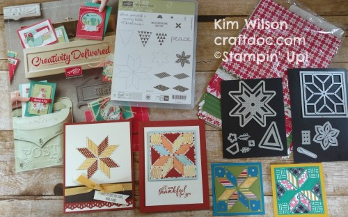 craftdoc Quilted Christmas Stampin Up