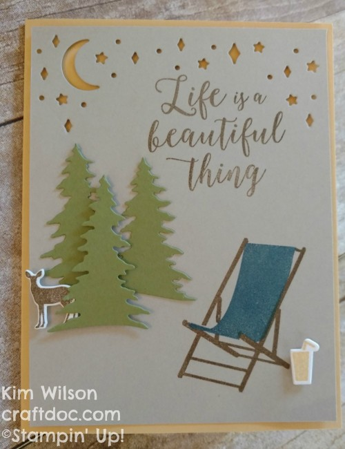craftdoc Seasonal Card front Stampin Up