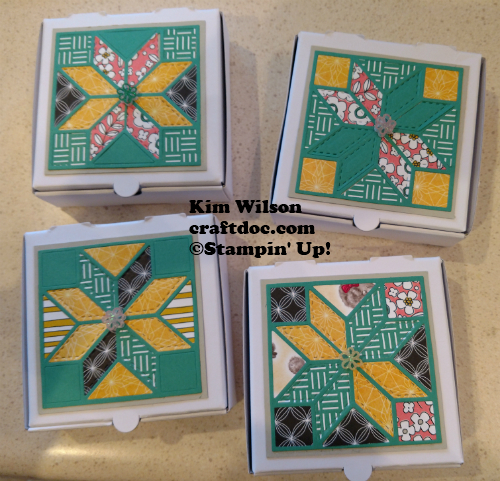 Quilt Pizza Boxes