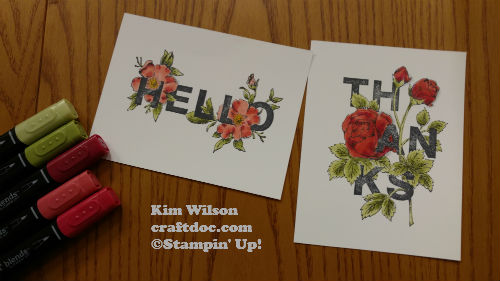 Stampin Blends 4