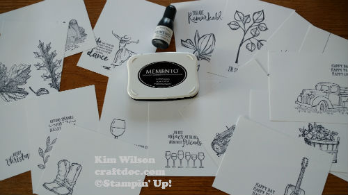 Stampin Up Blends 1
