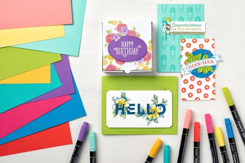 brights, Stampin' Up, new colors