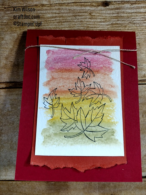 Stampin Up, Blended Seasons