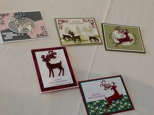 dashing deer samples