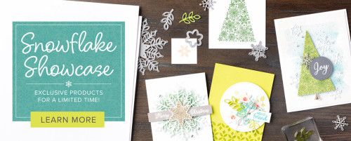 Stampin Up, Snowflake Showcase