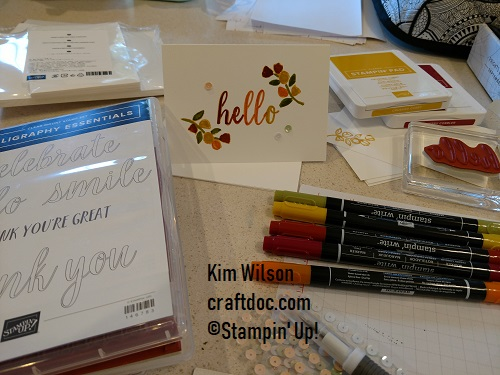 World Card Making Day Calligraphy Essentials