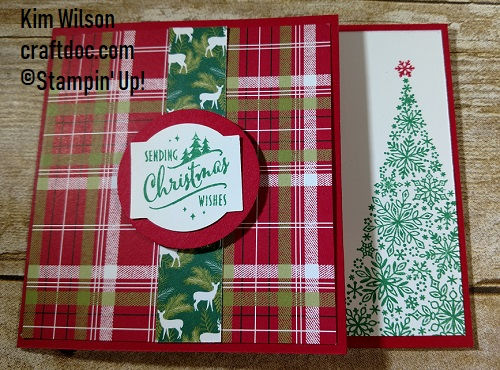 Christmas Traditions gift card holder