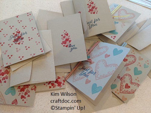 Meant to Be, Valentine's Day cards, #simplestamping