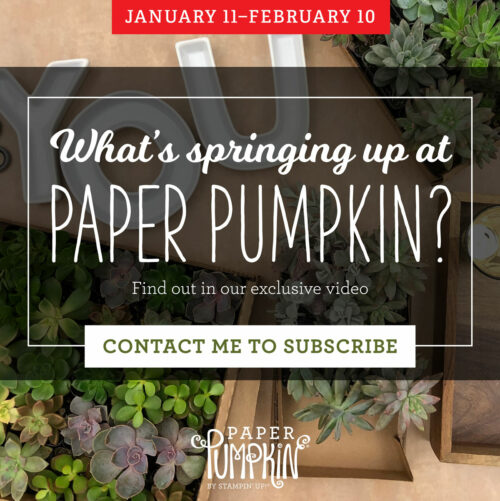 Stampin' Up!, Paper Pumpkin