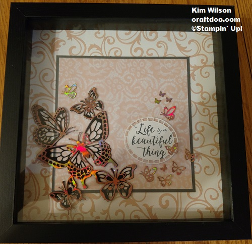 Floral Romance, Stampin Up, butterfly Beauty