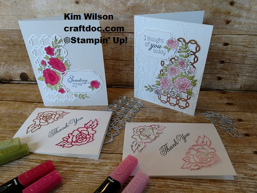 Climbing Rose, Stampin' Up