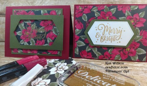 Magnolia Lane, Stampin' Up!, Craftdoc, Christmas Cards