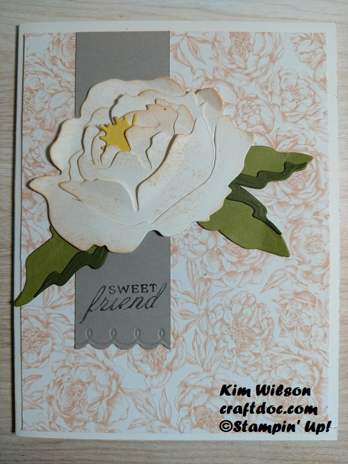 Coloring Floral Images - Prized Peony