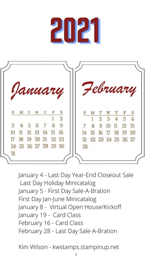New Stampin' Up!  catalogs