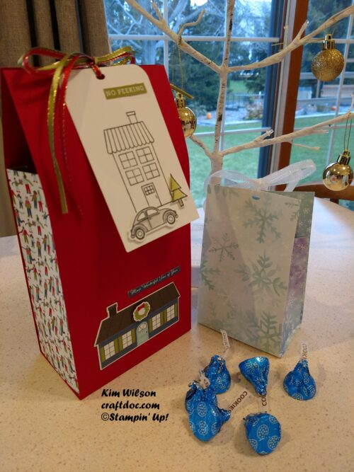 Stampin' Up, gift packaging